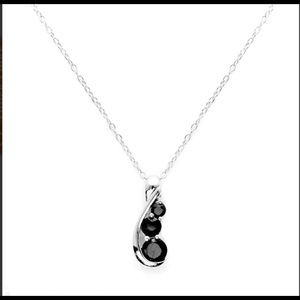 Jewelry - Solid 925 Silver & Onyx Necklace